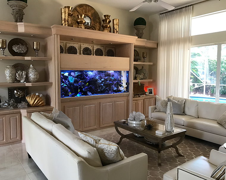 custom made fish tanks